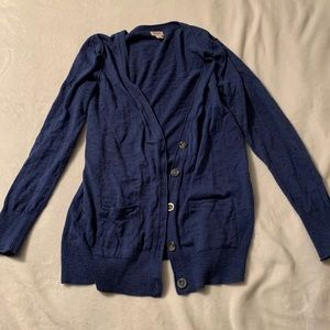 Mossimo Supply Co. Sweaters - Cozy Dark Blue Cardigan with pockets